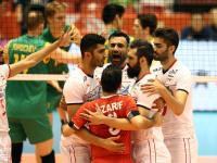 تیم والیبال ایران در سه ست پیاپی بر استرالیا پیروز شد