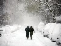 بارش برف و سرمای بیسابقه در استانهای شمالی ایران
