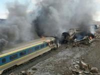 مدیر راهآهن ایران علت تصادف مرگبار قطار را خطای انسانی اعلام کرد