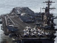 کره شمالی: میتوانیم با یک حمله ناو هواپیمابر آمریکا را غرق کنیم