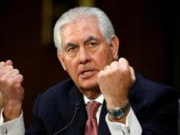 تیلرسون: آمریکا اکنون با کلیت تهدید ایران مقابله میکند