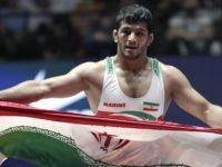 حسن یزدانی اولین طلای ایران را در بازیهای آسیایی جاکارتاگرفت