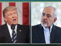 ترامپ: انقلاب ایران موجب چهل سال شکست شده؛ ظریف: آمریکا چهل سال در تسلیم کردن ایران شکست خورده